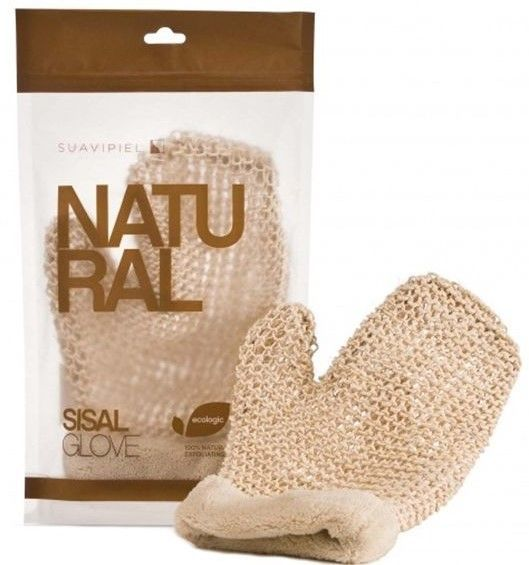Фото SUAVIPIEL SUAVIPIEL Рукавица - мочалка / NATURAL SISAL GLOVE